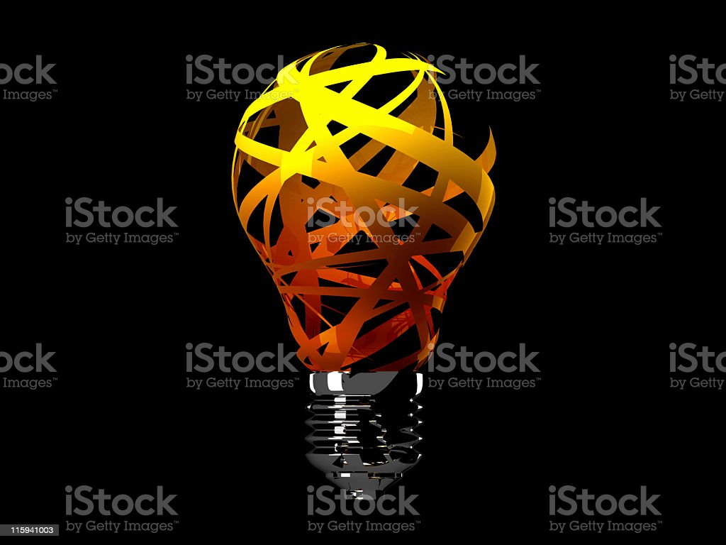 think fast! royalty-free stock photo