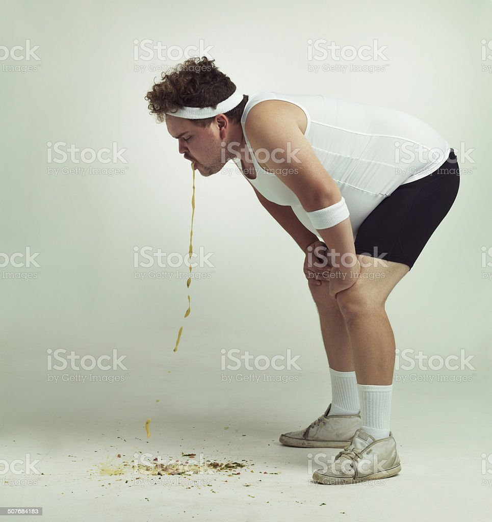 I think I might have over done it stock photo