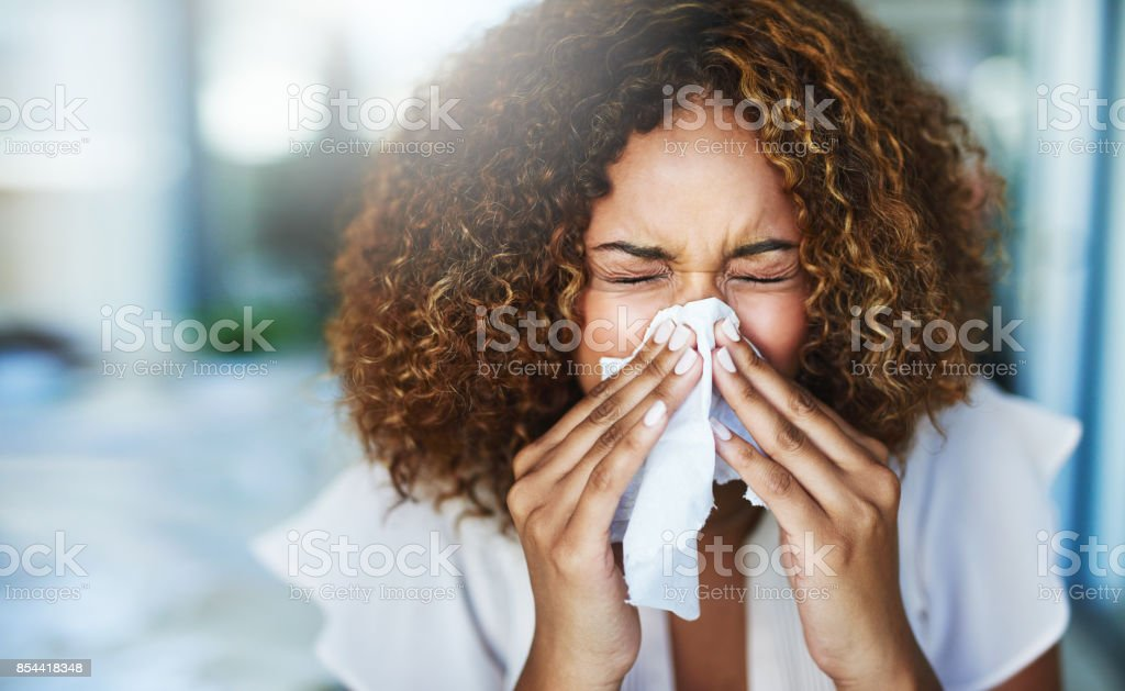 I think I'm going to the doctor later stock photo