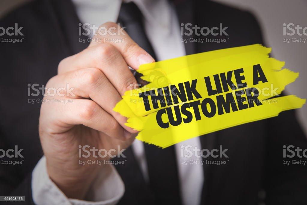 Penser comme un client - Photo