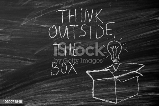 istock Think Outside The Box 1092074848