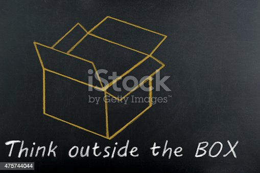 istock Think outside the box 475744044