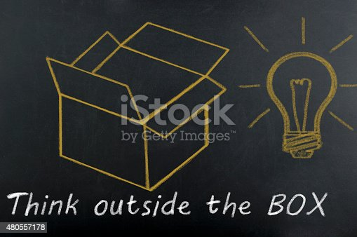 istock Think outside the box 480557178