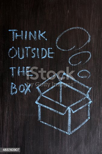 istock Think outside the box 483260907