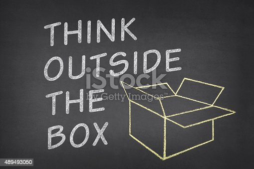 istock Think Outside The Box 489493050