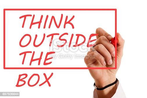 istock Think outside the box 697936644