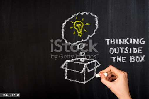 istock Think Outside The Box 806121710