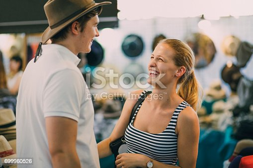 istock I Think This One Suits You Best! 699960526