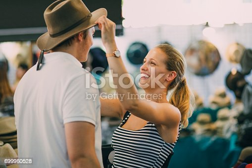 istock I Think This One Suits You Best! 699960528