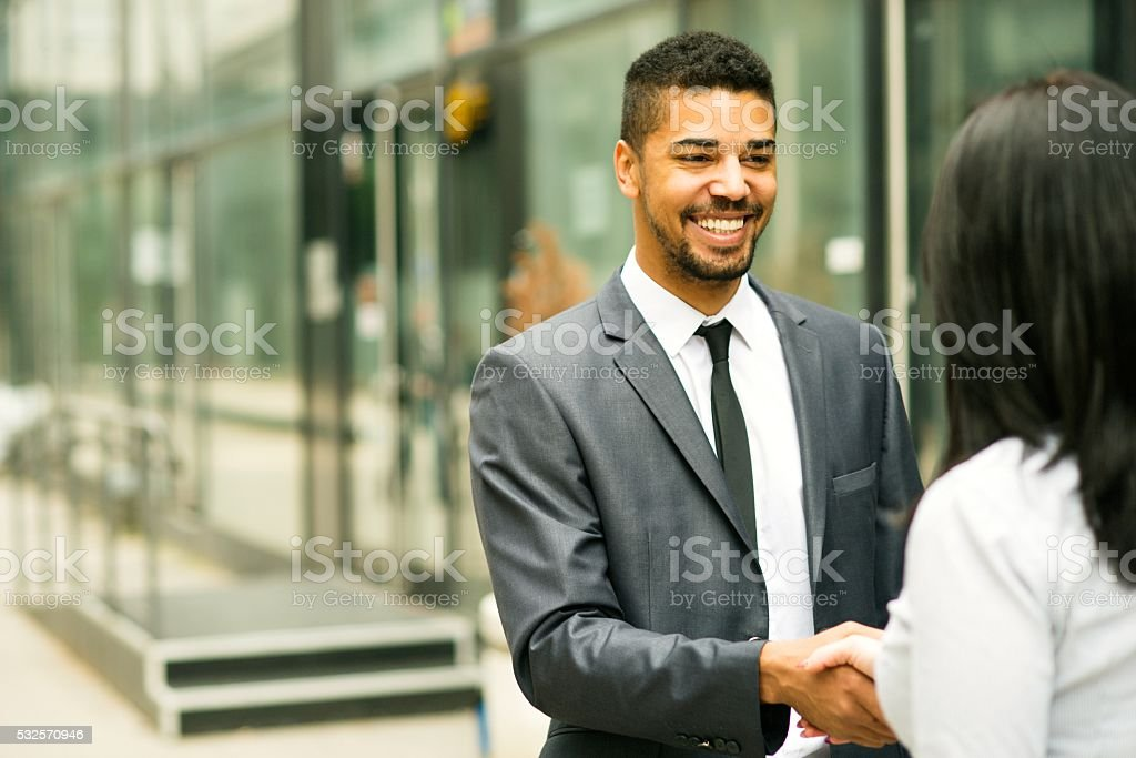 I think we have a deal. stock photo