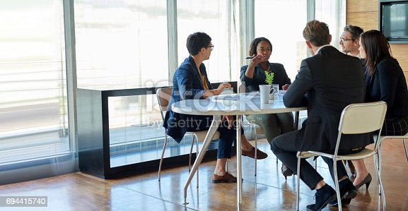 istock I think we should go with your idea! 694415740