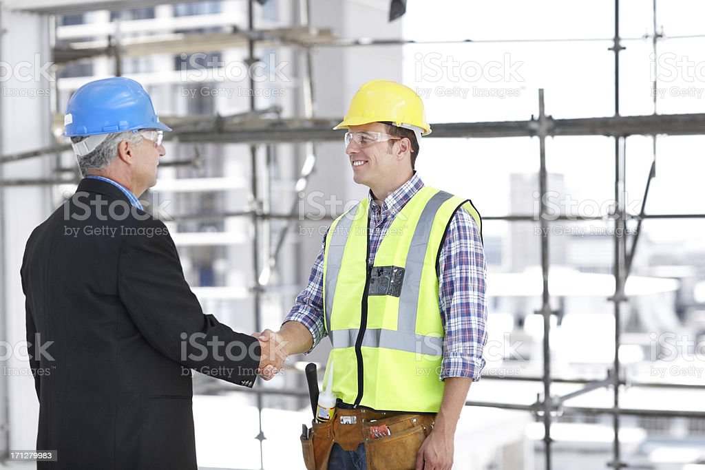 I think we will do great things together royalty-free stock photo