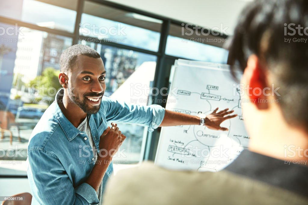 I think you're going to like this plan stock photo