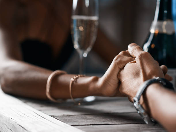 i think you're the one... - dinner date stock photos and pictures