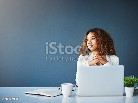 istock Thinking about future business plans 876977804