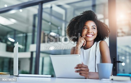 istock Thinking about how to take the business to technological heights 906798262
