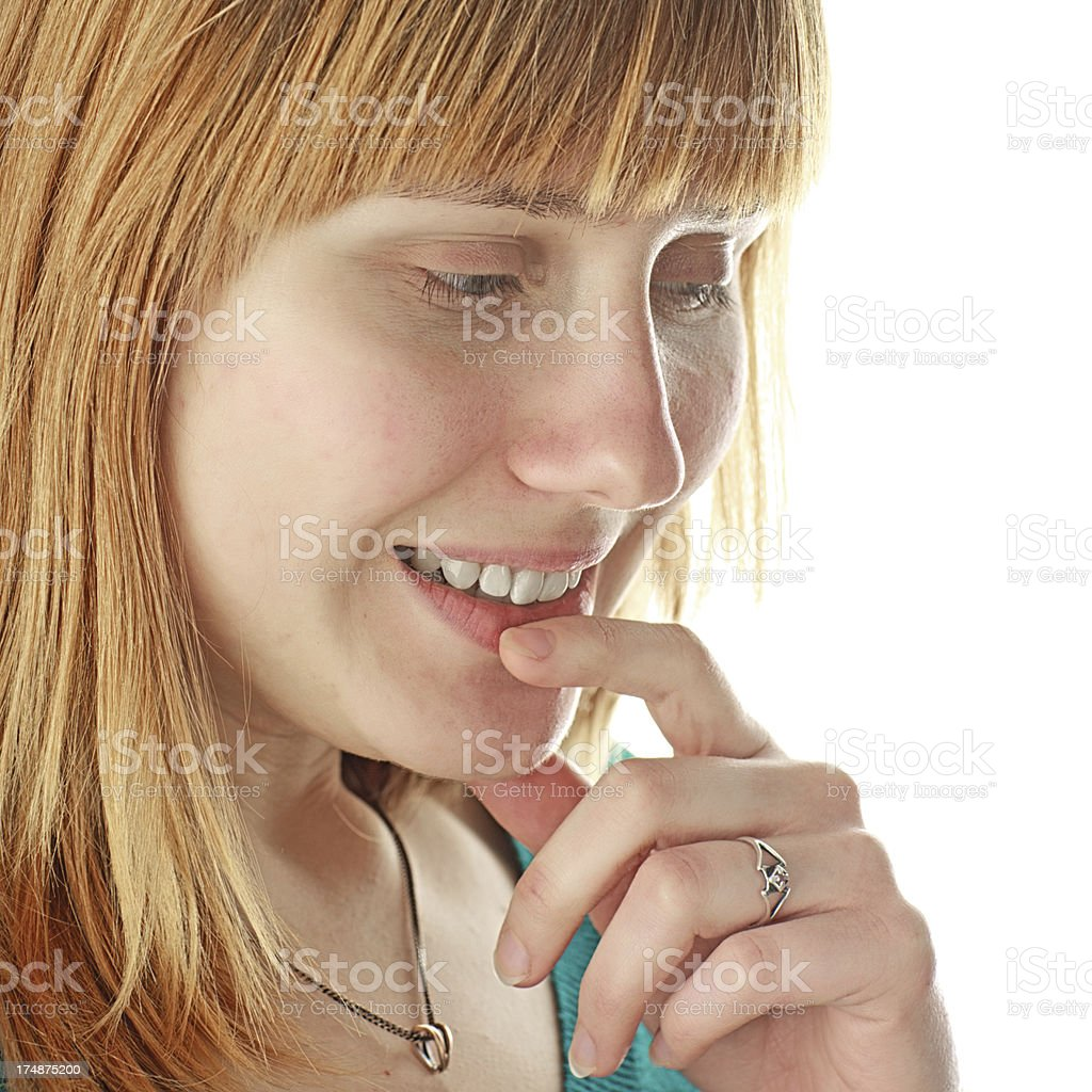 Thinking about... royalty-free stock photo