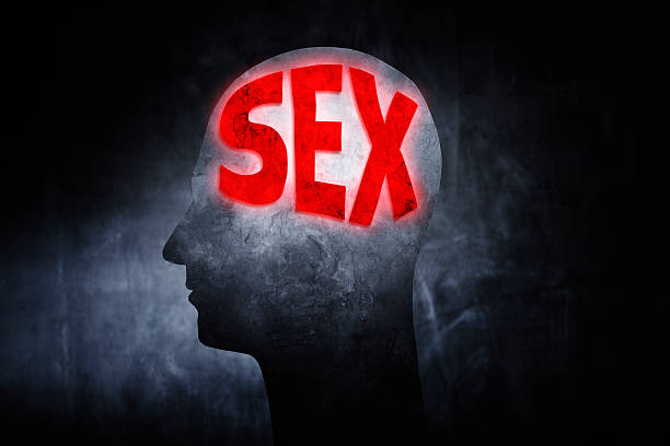 Thinking about Sex stok fotoğrafı