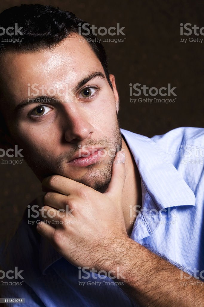 Thinking About Things royalty-free stock photo