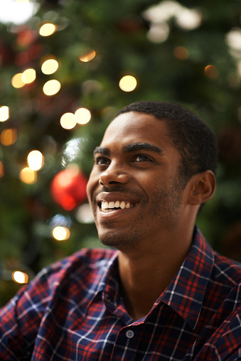 Shot of a handsome young man getting into the Christmas spirithttp://195.154.178.81/DATA/i_collage/pi/shoots/783380.jpg