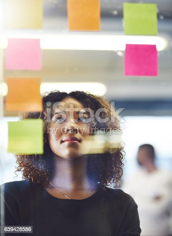 istock Thinking critically to create success 639428586