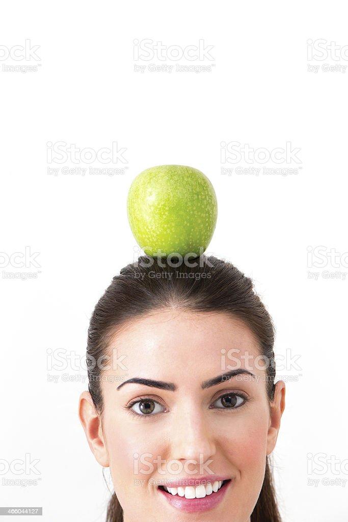 Thinking Healthy royalty-free stock photo