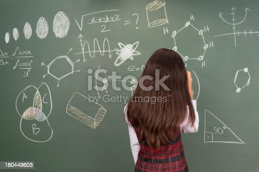 istock Thinking Little Girl 180449603