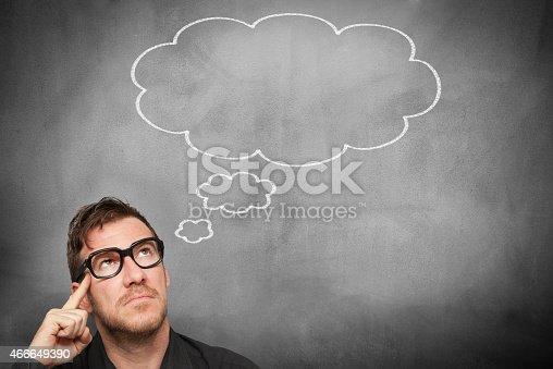 istock Thinking Man 466649390