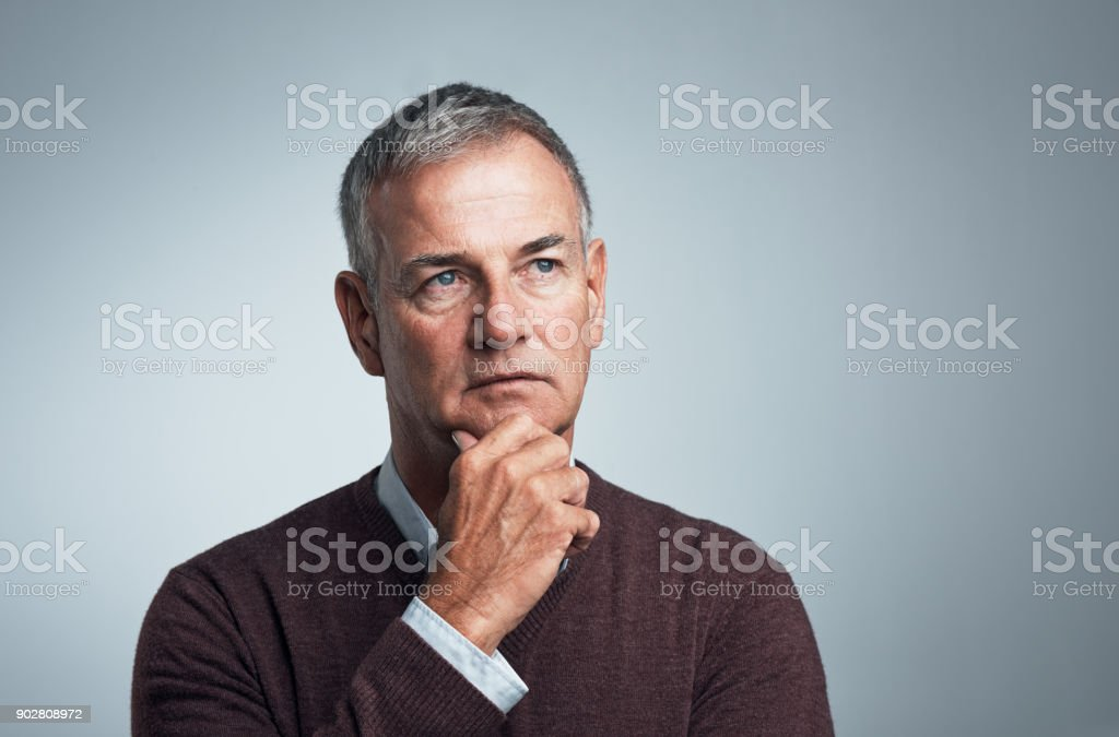 Thinking of all the tomorrows stock photo