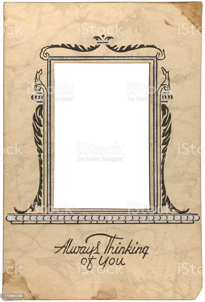 thinking of you royalty-free stock photo