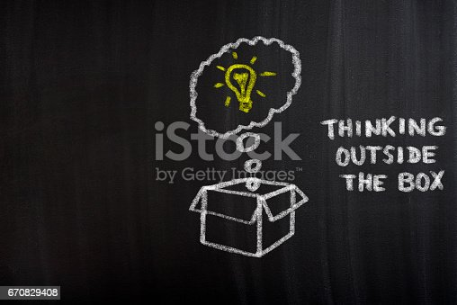 istock Thinking outside the box 670829408