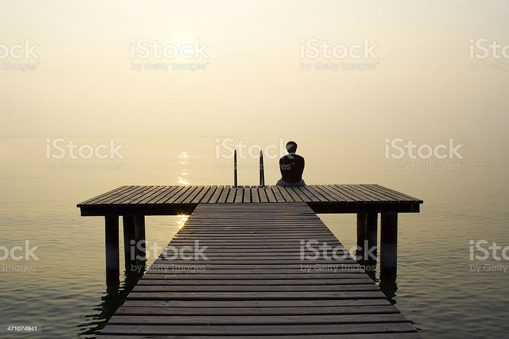 Thinking stock photo