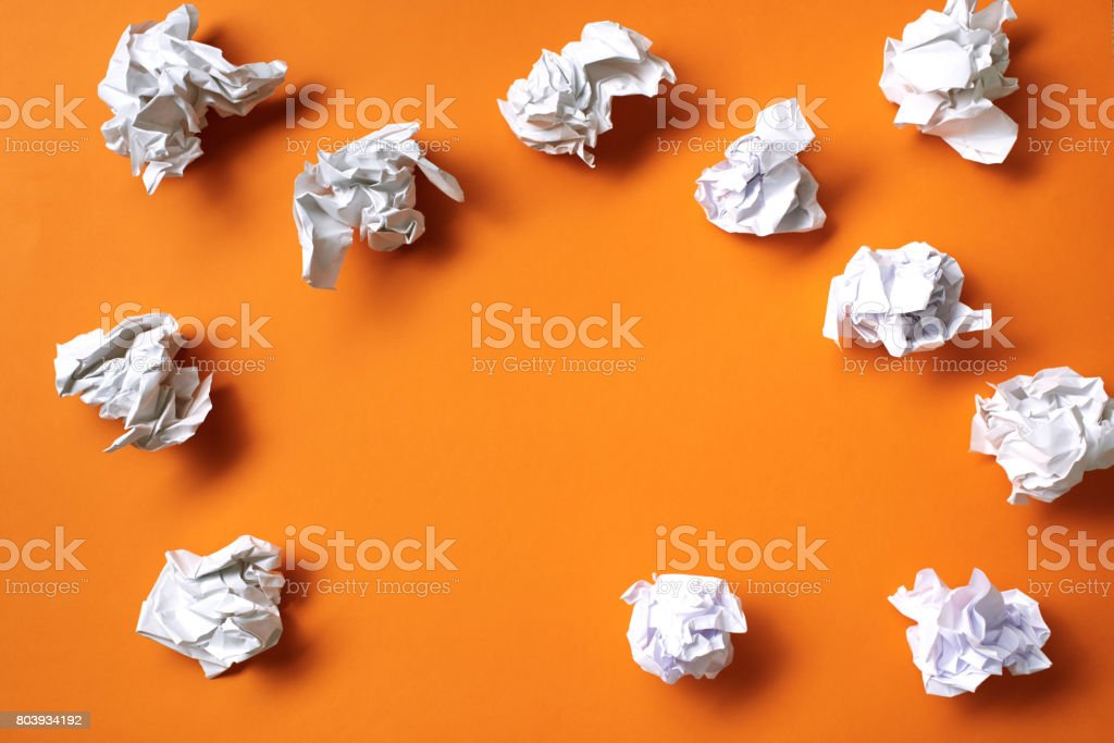 Thinking process concept stock photo