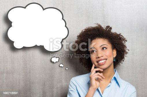 istock Thinking woman 166218891