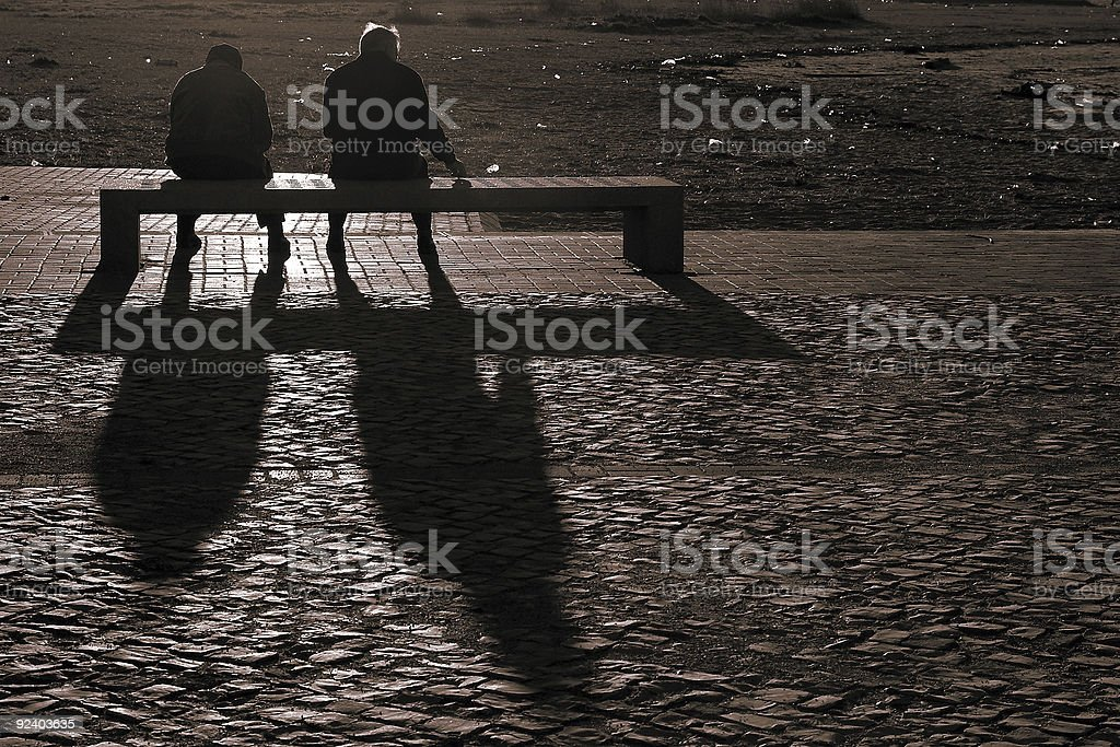 Third age in rest royalty-free stock photo
