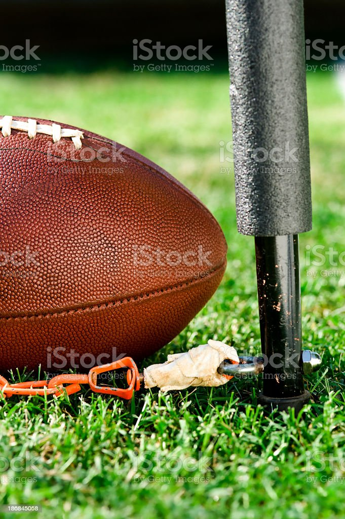 Third and Short - American Football royalty-free stock photo