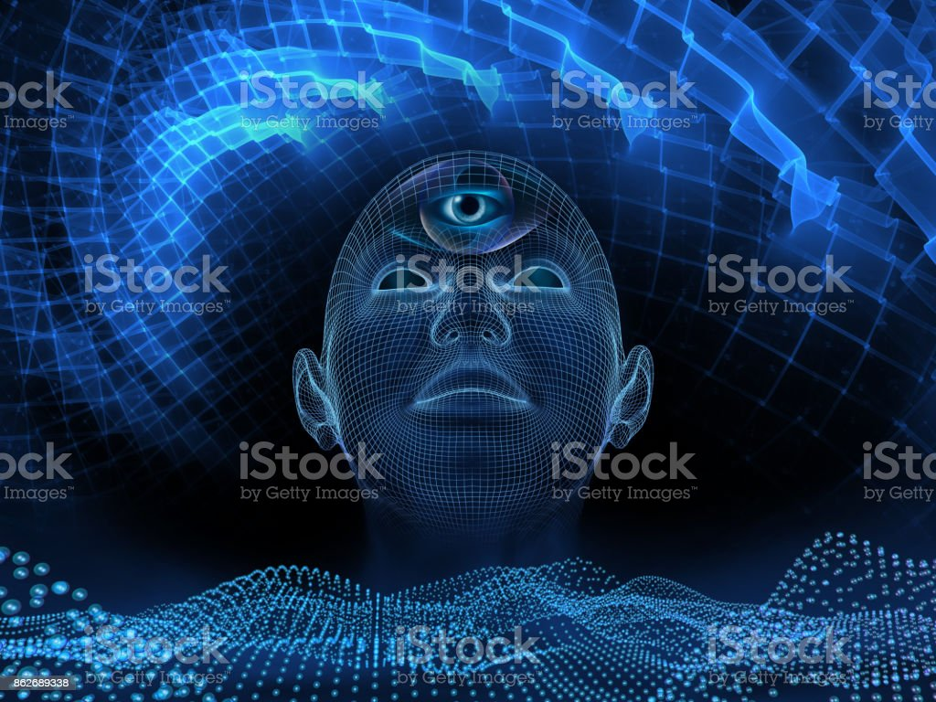 third Eye stock photo