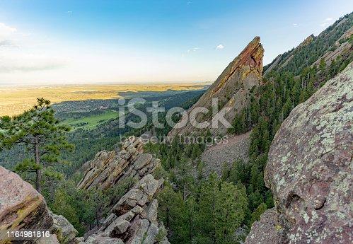Third Flatiron trail Boulder Colorado