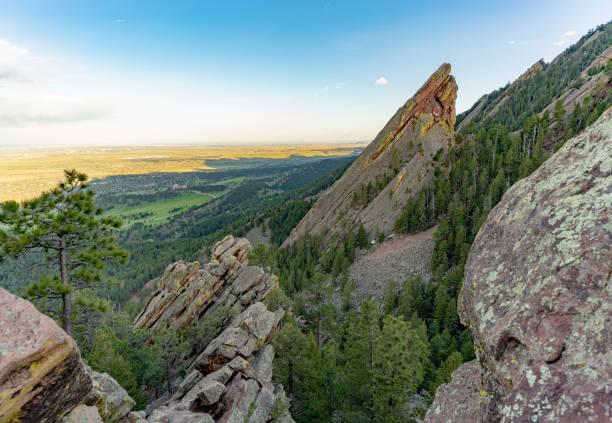 Troisième sentier Flatiron Boulder Colorado - Photo