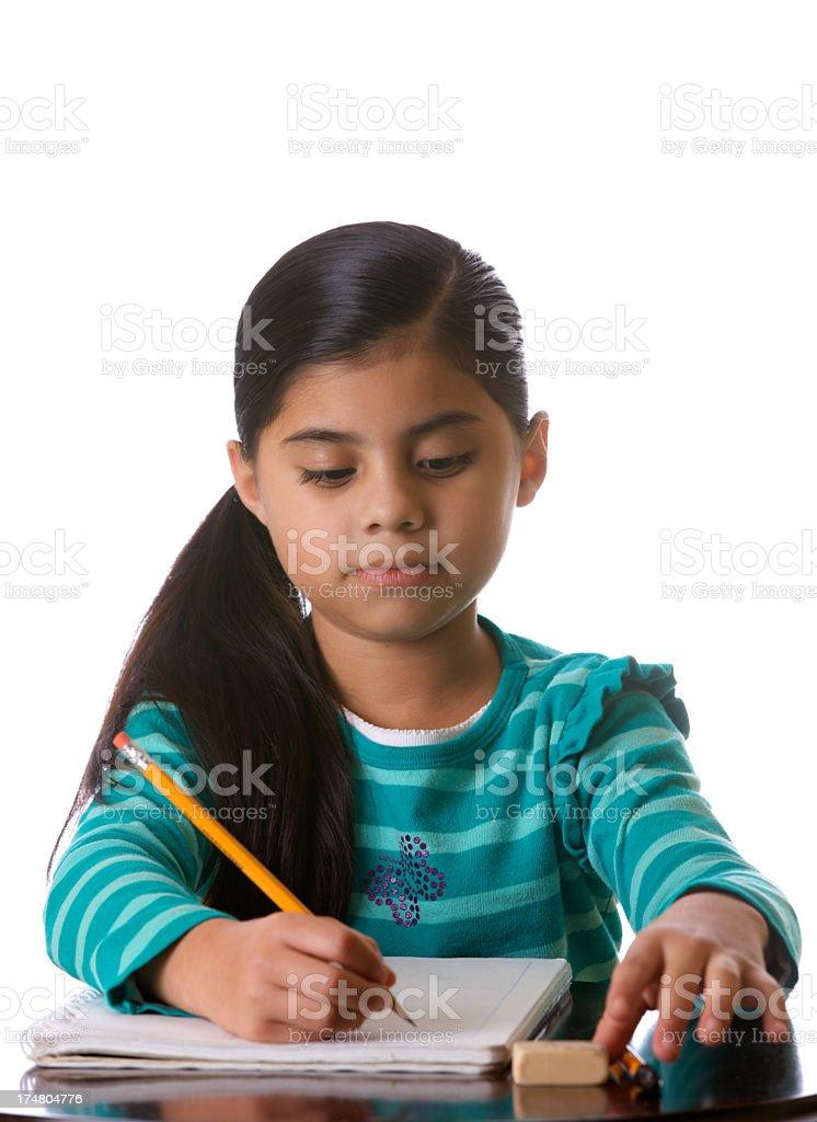 Third Grader royalty-free stock photo