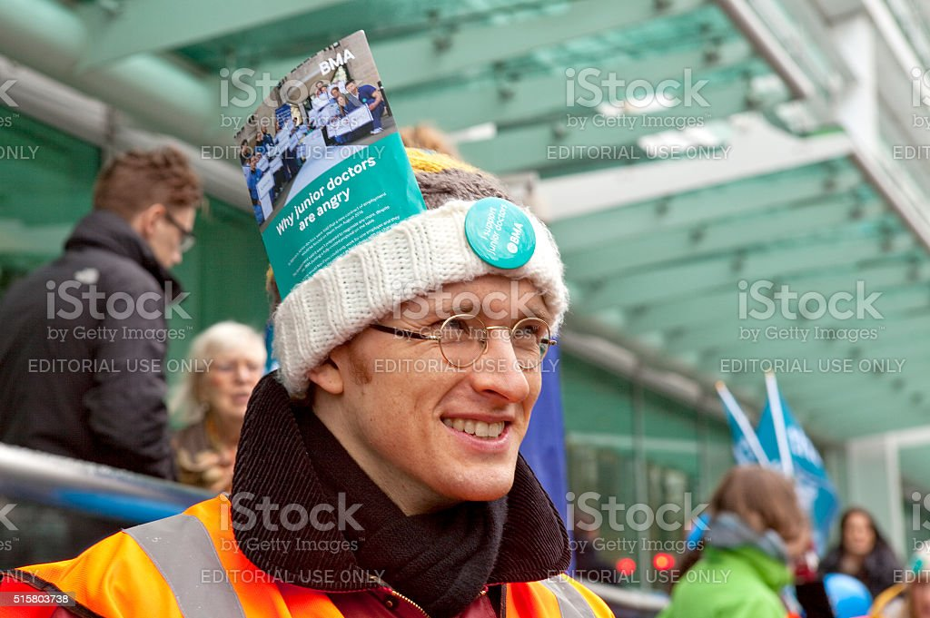 Third Junior Doctors' Strike stock photo
