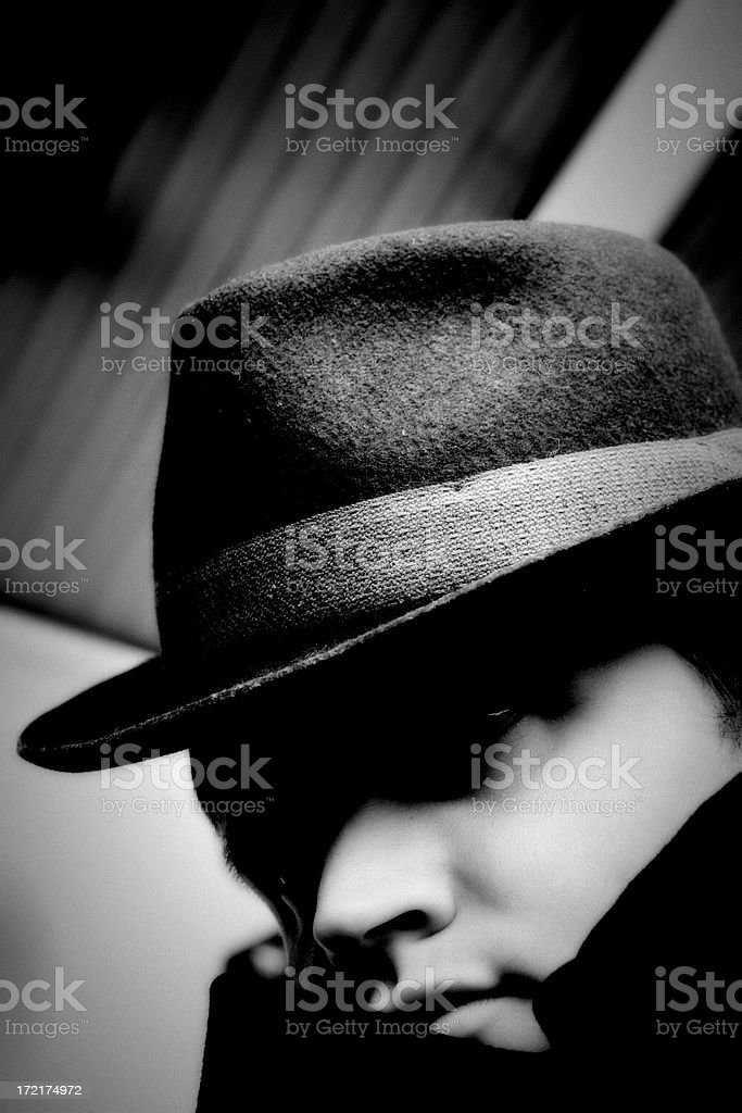 Third Man royalty-free stock photo