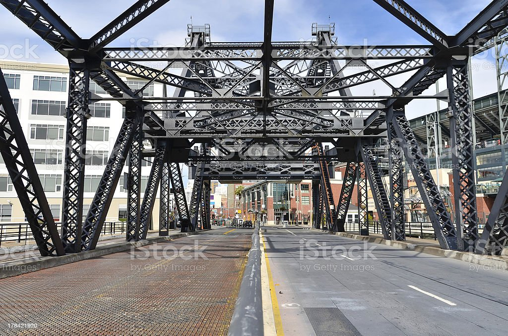Third Street Draw Bridge royalty-free stock photo