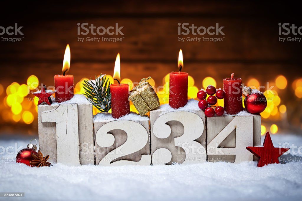 third sunday in advent concept stock photo