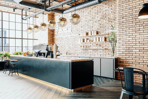 Third Wave Coffee Shop Interior