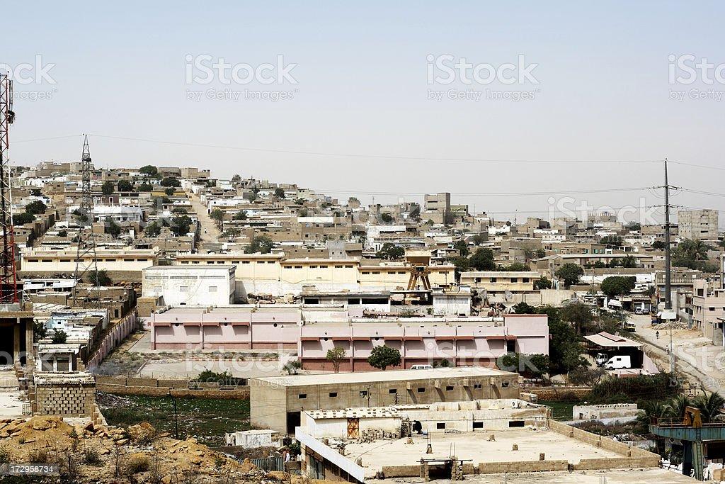 Third World City stock photo