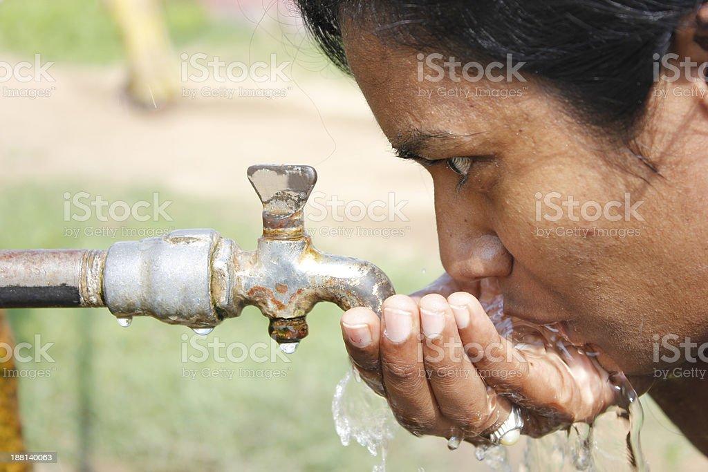 Thirsty royalty-free stock photo