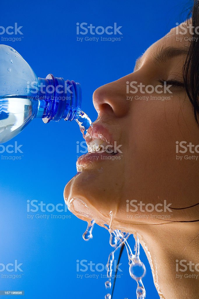 Thirsty Women royalty-free stock photo