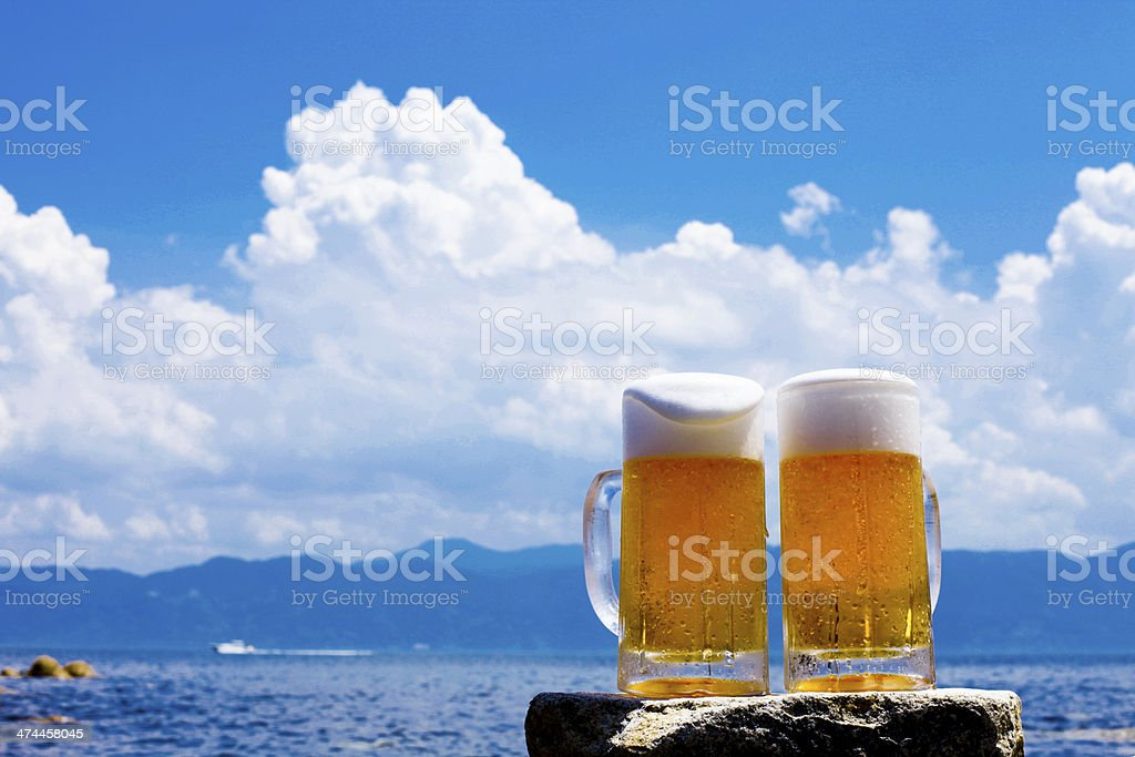 Thirsty?Beer royalty-free stock photo