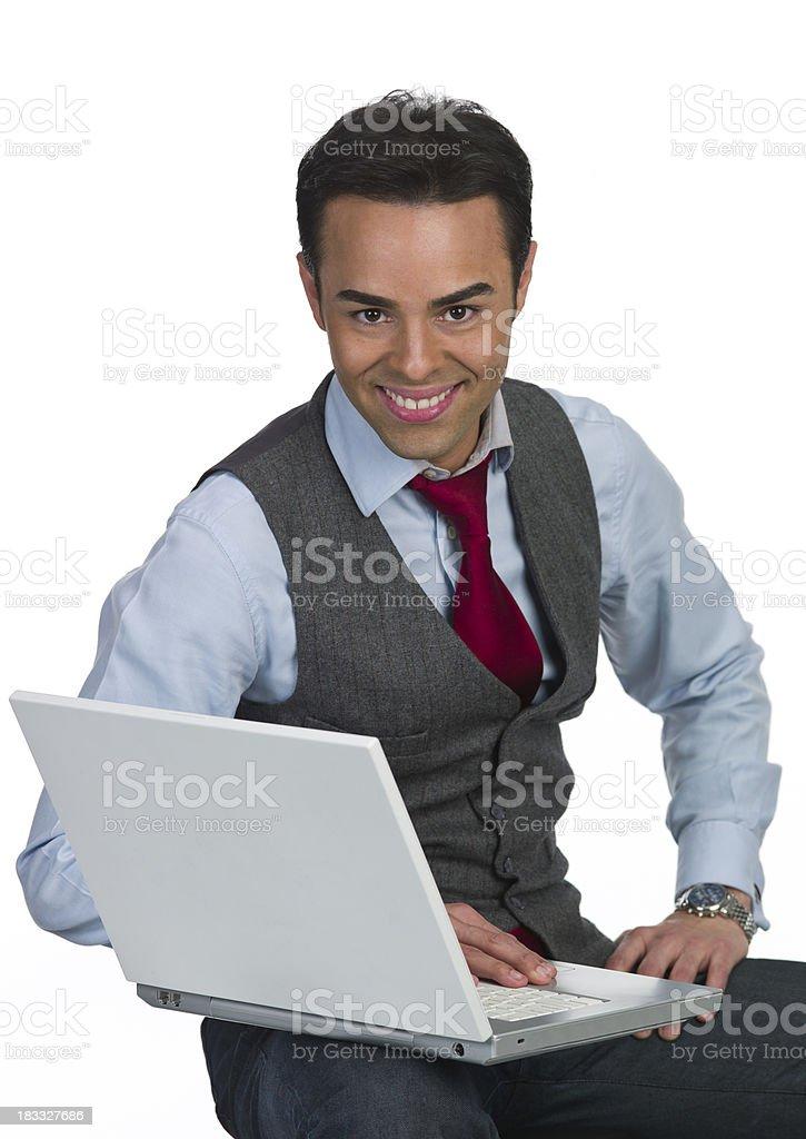 Thirty something business man stock photo